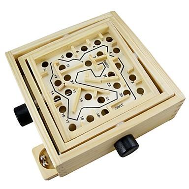 olcso puzzle játékok-Mágneses labirintus Stressz és szorongás oldására Fa Gyermek Ajándék