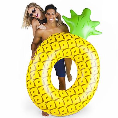 olcso Kiegészítők úszástanuláshoz-Ananász Felfújható strandjátékok PVC Tartós Felfújható Úszás Vízi sportok mert Felnőttek 182*116*36 cm