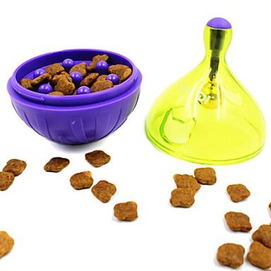 وازم تغذية وسقي التدريب ألعاب الصرير كلاب الأرانب قطط حيوانات أليفة ألعاب مسموح باصطحاب الحيوانات الأليفة حاوية لعبة الكرتون بلاستيك هدية