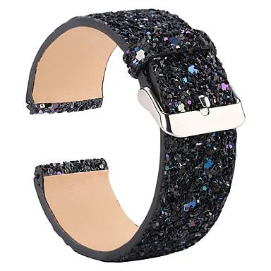 حزام إلى Fitbit Versa فيتبيت بكلة عصرية / تصميم المجوهرات جلد شريط المعصم