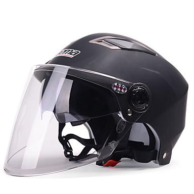 YEMA 325 نصف خوذة بالغين للجنسين دراجة نارية خوذة ضد الصدمات / ضد UV / ضد الهواء