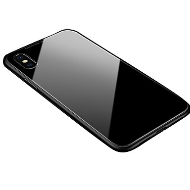voordelige iPhone-hoesjes-hoesje Voor Apple iPhone XS / iPhone XR / iPhone XS Max Transparant / Magnetisch Achterkant Effen Hard Aluminium