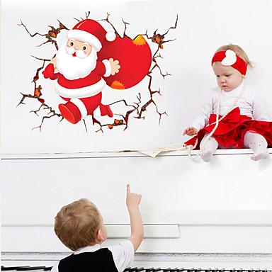 لواصق حائط مزخرفة - عطلة ملصقات الحائط كريستمس غرفة الجلوس / غرفة النوم / دورة المياه