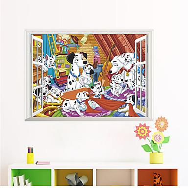 لواصق حائط مزخرفة - لواصق / ملصقات الحائط الحيوان حيوانات غرفة الجلوس / غرفة النوم / دورة المياه