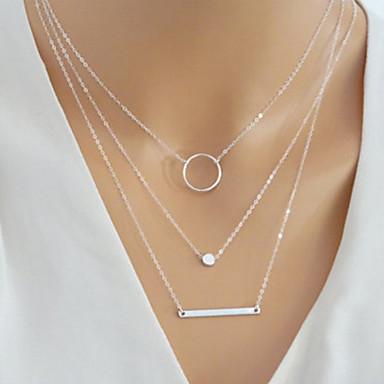 collier multirangs femme
