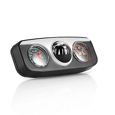 Недорогие Брелоки-onever mini 3 in1 направляющий мяч встроенный автоматический компас термометр гигрометр украшения украшения автомобильные аксессуары для салона