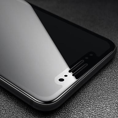 voordelige iPhone screenprotectors-schermbeschermer voor apple iphone 11 / xr szkinston 3d 9h volledig krasbestendig anti-vingerafdruk glasvezel high definition (hd) gehard glasplaat zeefdrukbeschermer beschermfolie - zwart