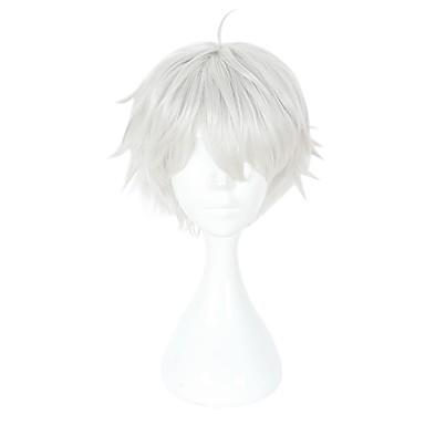 ieftine Peruci Anime Cosplay-Tokyo Ghoul Ken Kaneki Cosplay Peruci de Cosplay Unisex 14 inch Fibră Rezistentă la Căldură Peruca Animei / Other / Perucă / Other / Perucă