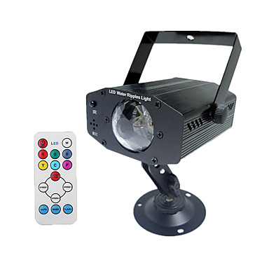 olcso Ünnepi Dekorációs Fény-1db 12 W LED projektorok Újratölthető / Távvezérlésű / Dekoratív 100-240 V Kereskedelmi / Szabadtéri / Esküvői színhely díszítés LED gyöngyök