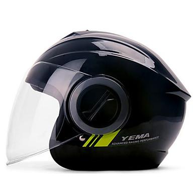 YEMA 632 نصف خوذة بالغين للجنسين دراجة نارية خوذة ضد الصدمات / ضد UV / ضد الهواء