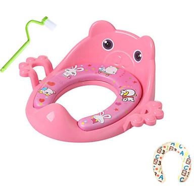 قعادة للأطفال / تصميم جديد / مع فرشاة تنظيف العادي / الحديث PP / ABS + PC 1PC اكسسوارات المرحاض / ديكور الحمام