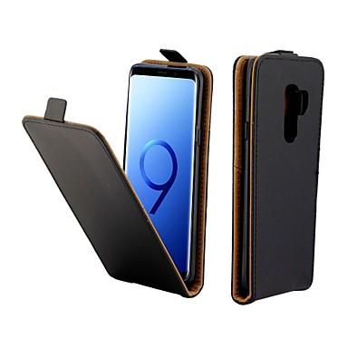 Θήκη Za Samsung Galaxy S9 Utor za kartice / Zaokret Korice Jednobojni Tvrdo PU koža