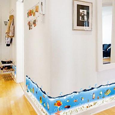 لواصق حائط مزخرفة - لواصق حائط الطائرة حيوانات / تصويري دورة المياه / غرفة الأطفال / قابل للغسيل / قابل للنقل