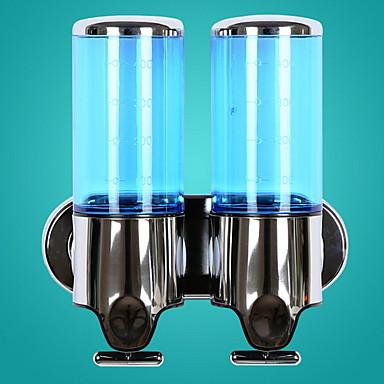 آلة الصابون تصميم جديد / جميل / أوتوماتيكي الحديث الفولاذ المقاوم للصدأ / ABS + PC 1PC - حمام مثبت على الحائط