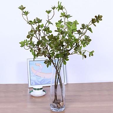 زهور اصطناعية 1 فرع كلاسيكي فردي أسلوب بسيط الحديث نباتات الزهور الخالدة النباتات العصارية أزهار الطاولة