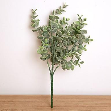 زهور اصطناعية 1 فرع حفلة أسلوب بسيط نباتات الزهور الخالدة أزهار الطاولة