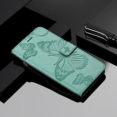 povoljno Maske za mobitele-Θήκη Za Xiaomi Redmi Note 5A / Xiaomi Redmi Note 4X / Xiaomi Redmi Note 3 Novčanik / Utor za kartice / sa stalkom Korice Rukav leptir Tvrdo PU koža