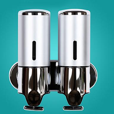 آلة الصابون تصميم جديد الحديث الفولاذ المقاوم للصدأ / ABS + PC 1PC - حمام مثبت على الحائط