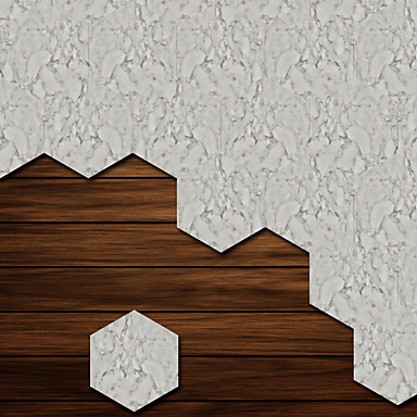 لواصق حائط مزخرفة - لواصق أشكال / 3D غرفة الجلوس / غرفة النوم / دورة المياه