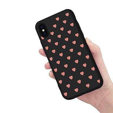غطاء من أجل Apple iPhone X / iPhone 8 Plus / iPhone 8 نموذج غطاء خلفي قلب ناعم TPU