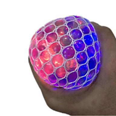رخيصةأون مخففات التوتر-مخفف الضغط كرة التوتر والقلق الإغاثة ضوء LED قبضة مريحة 1 pcs بالغين للصبيان للفتيات ألعاب هدية