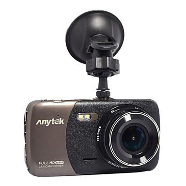Anytek B50 1080p ليلة الرؤية سائق سيارة 170 درجة زاوية واسعة 4 بوصة داش كام مع G-Sensor / أداس / WDR 2 أشعة تحت الحمراء LED مسجل السيارة
