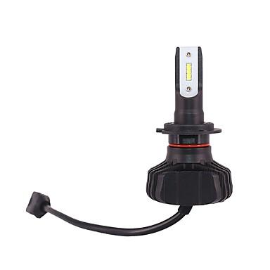 voordelige Autokoplampen-2 kits dc12v-24v 90 w pk26d led koplamp kit h7 auto hoge koplamp kit lage koplamp kit wit