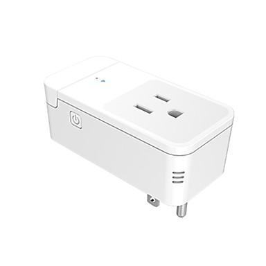 رخيصةأون Smart Plug-RE المكونات الذكية SM01-IR إلى أدوات المطبخ الحديثة / غرفة المعيشة / دراسة Smart / الحماية عند انقطاع التيار الكهربائي / يعمل بالريموت كنترول WIFI 100 V
