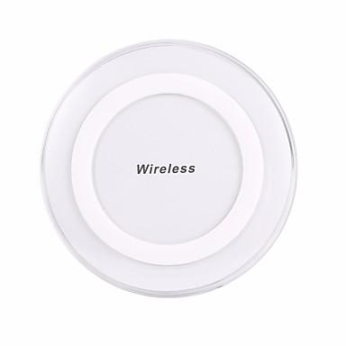 Недорогие Беспроводные зарядные устройства-Беспроводное зарядное устройство Зарядное устройство USB Универсальный Беспроводное зарядное устройство Не поддерживается 1 A 100~240 V для iPhone X / iPhone 8 Pluss / iPhone 8
