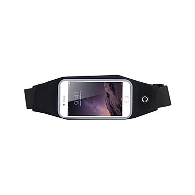 Недорогие Чехлы и кейсы для Galaxy S-Кейс для Назначение SSamsung Galaxy S8 Водонепроницаемый / Спортивныеповязки / Защита от удара С ремешком на руку Однотонный Мягкий пластик