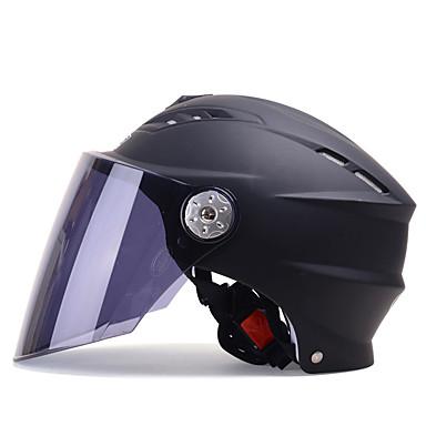 YEMA 315 חצי קסדה מבוגרים יוניסקס אופנוע קסדה עמיד בזעזועים / נגד קרינת UV / עמיד ברוח