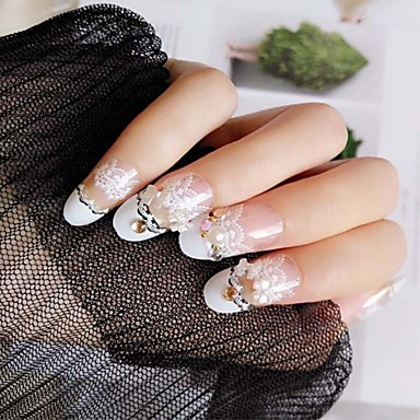 24 Classic Nail Art Manicure Pedicure Fashion Daily Wear 6756668