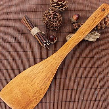 خشب ملعقة الصيدلي قبضة مريحة أداة الخبز أدوات أدوات المطبخ لأواني الطبخ 1PC