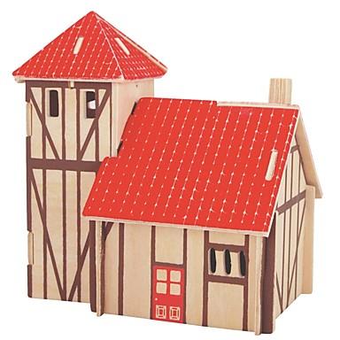 تركيب خشبي / ألعاب المنطق و التركيب بيت مدرسة / تصميم جديد / المستوى المهني خشبي 1 pcs للأطفال / في سن المراهقة الجميع هدية