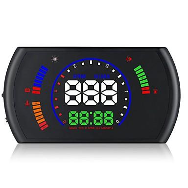 Недорогие Приборы для проекции на лобовое стекло-S600 Проводное Дисплей заголовка Новый дизайн / Ночное видение / Контроль 360 ° для Автомобиль Скорость движения / Дисплей KM / h MPH /