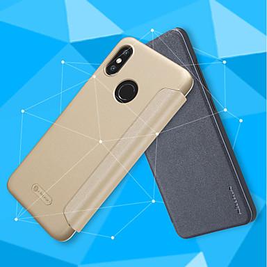 غطاء من أجل Xiaomi Xiaomi Redmi S2 / Xiaomi Mi Mix 2S / Xiaomi Mi 8 قلب / مثلج غطاء كامل للجسم لون سادة قاسي جلد PU