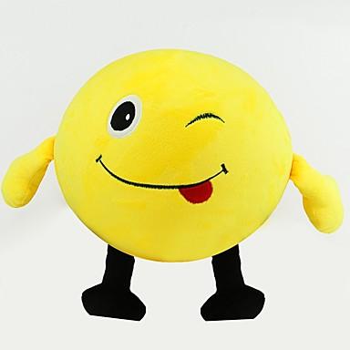 Enkidu رموز تعبيرية خلاق ألعاب محشوة جميل ضغط اللعب التفاعل بين الوالدين والطفل كرتون قطن / بوليستر للفتيات ألعاب هدية 1 pcs