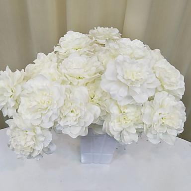 رخيصةأون ديكور المنزل-زهور اصطناعية فرع كلاسيكي النمط الرعوي الزهور الخالدة أزهار الأرض