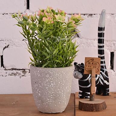 زهور اصطناعية 1 فرع كلاسيكي زهري الجريس نوع من الزهر الجريسي أزهار الطاولة