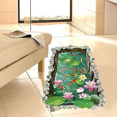 لواصق حائط مزخرفة - لواصق 3D غرفة الجلوس / غرفة النوم / دورة المياه