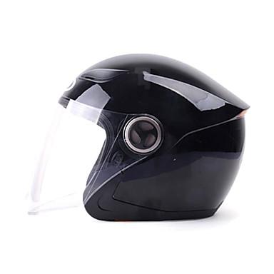 YEMA 619 نصف خوذة بالغين للجنسين دراجة نارية خوذة ضد الصدمات / ضد UV / ضد الهواء