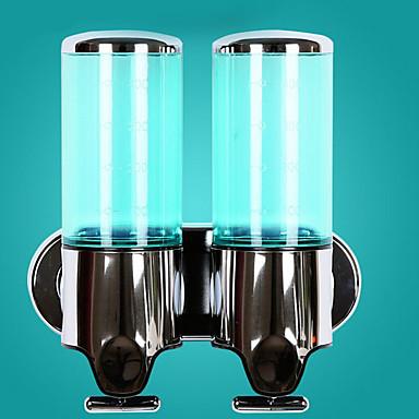 آلة الصابون تصميم جديد / خلاق / أوتوماتيكي معاصر الفولاذ المقاوم للصدأ / ABS + PC حمام مثبت على الحائط