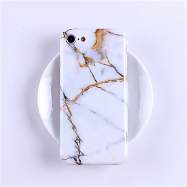 povoljno Futrole za iPhone X-Θήκη Za Apple iPhone X / iPhone 8 Plus / iPhone 8 Uzorak Stražnja maska Mramor Mekano TPU