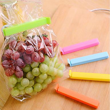 بلاستيك مشابك غرفة الطعام والمطبخ حياة قابل للتعديل أدوات أدوات المطبخ للفاكهة 5pcs