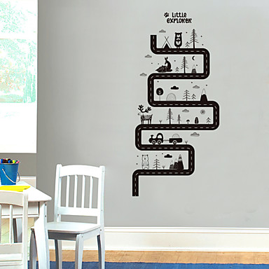 لواصق حائط مزخرفة - ملصقات الحائط الحيوان حيوانات غرفة الجلوس / غرفة النوم / دورة المياه