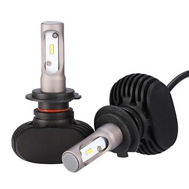 2pcs H7 لمبات الضوء 25 W Integrated LED 2500 lm 6 LED مصباح الرأس 2018