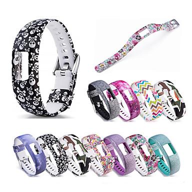 voordelige Smartwatch-accessoires-Horlogeband voor Vivofit 4 Garmin Sportband Silicone Polsband