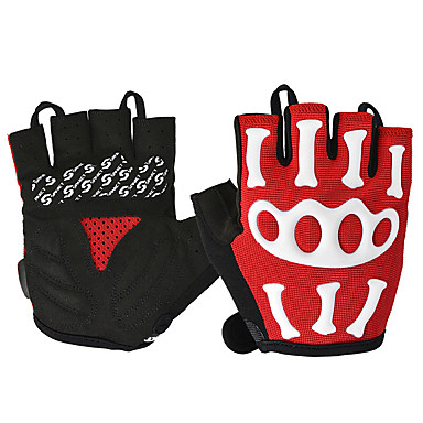 ROCKBROS Half-finger Unisex Motorcycle Gloves Nylon / Poly urethane Breathable / Wearproof / Non Slip