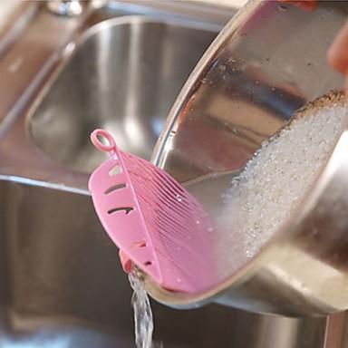 البلاستيك مصافي ومصفاة المطبخ الإبداعية أداة أدوات أدوات المطبخ لأواني الطبخ 1PC