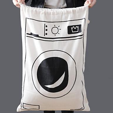 قماش دائري إبداعي / نمط هندسي الصفحة الرئيسية منظمة, 1PC حقائب التخزين